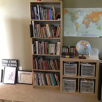 Book and supply storage
