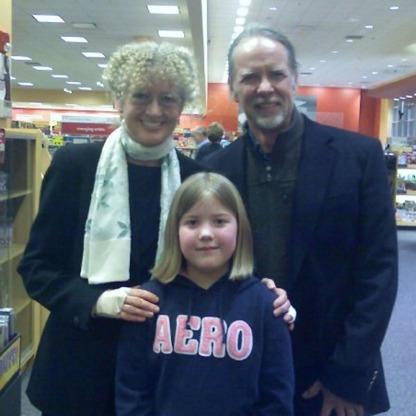 Meeting Mary Pope Osborne.