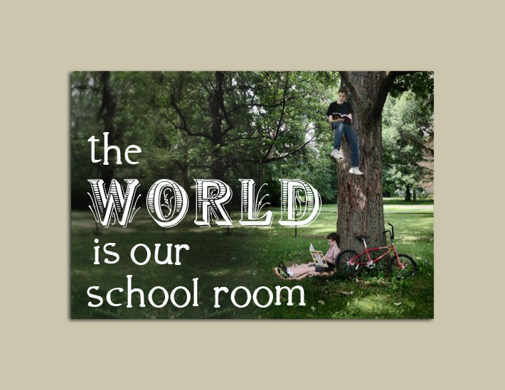 The World is Our Schoolroom:  August 1 edition